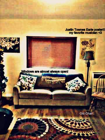 Justin Townes Earle, couch, hey lou writes, writing, reading