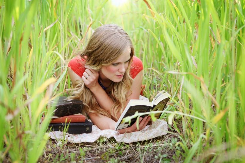 reading, writing, happy