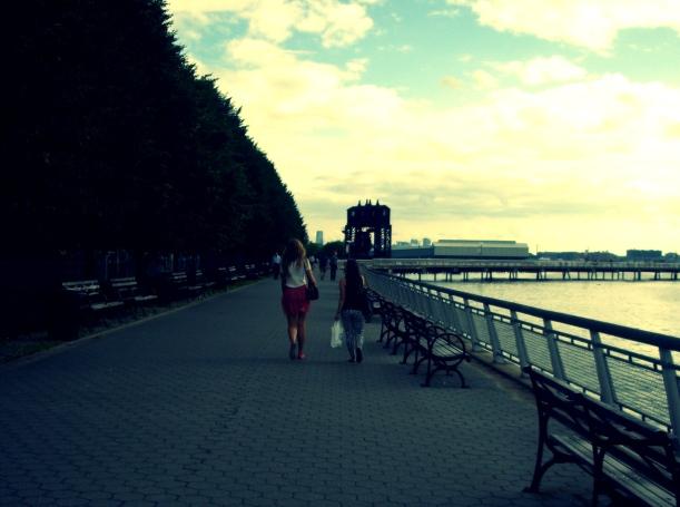 walking, nyc, the good, writing
