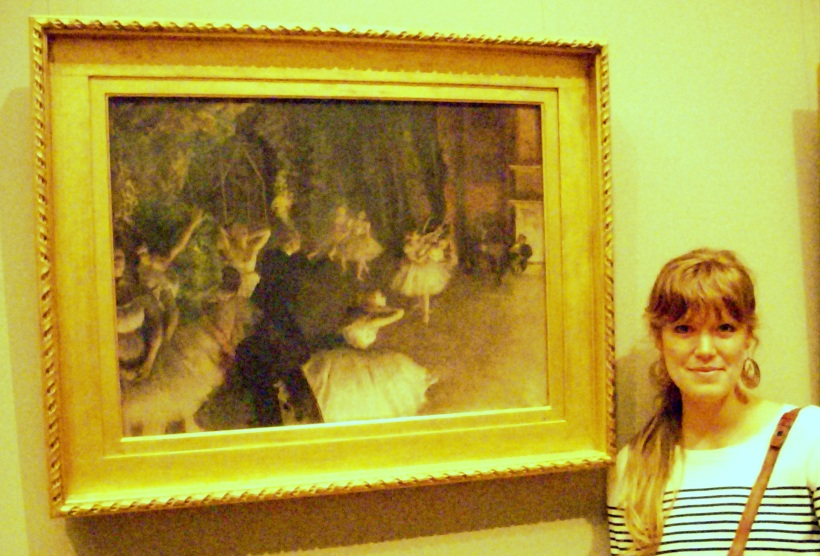 degas, nyc, met, art, writing
