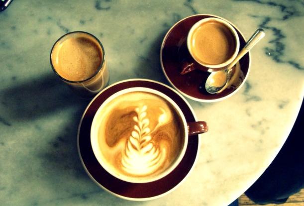 foam art, lattes, nyc, writing