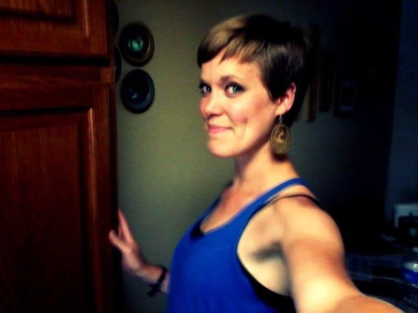 short hair, pixie cut, it's just hair