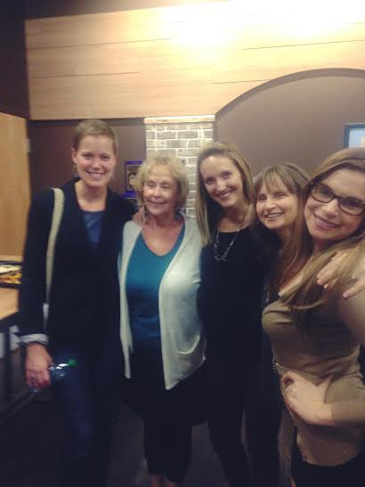 Me, Peggy, Jess T, ANN!, Rebecca