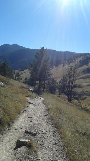 a hike in Colorado, beautiful
